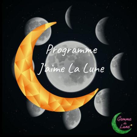 Programme J'aime la Lune - Gemme de Lune, apprendre à vivre avec les cycles de la Lune